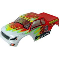 CARROCERIA MONSTER CRAWLER ROJA Y BLANCA 1/10
