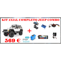 AXIAL RC SCX10 2 2000 JEEP CHEROKEE 4WD KIT COMBO