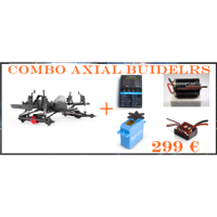 AXIAL SCX10 II RAW BUILDERS COMBO