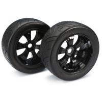 Ruedas 1/8 Buggy Hexagono 17mm pista (2 unid)