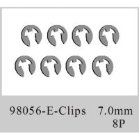 CLIPS 7MM 8 UNID