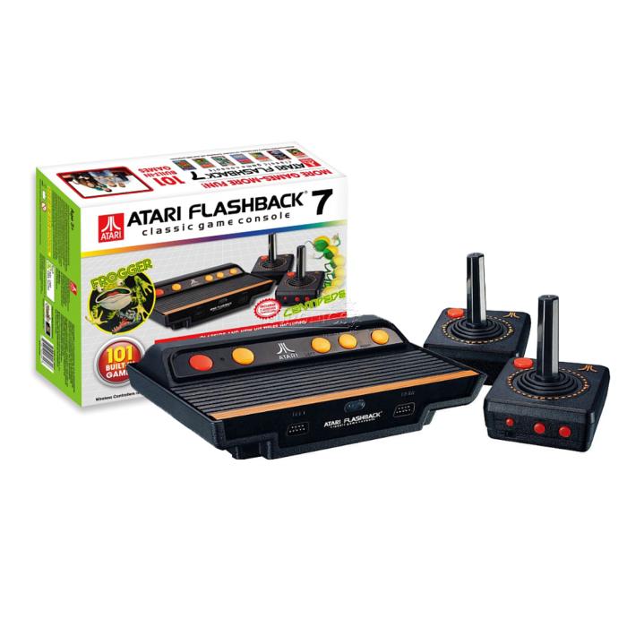 Consola Atari Flashbacj 7 Con 100 Juegos Antiguos Una Maravilla
