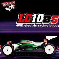 COCHE LC RACING LC10B5 4X4 COMPETICION BUGGY KIT MONTAJE