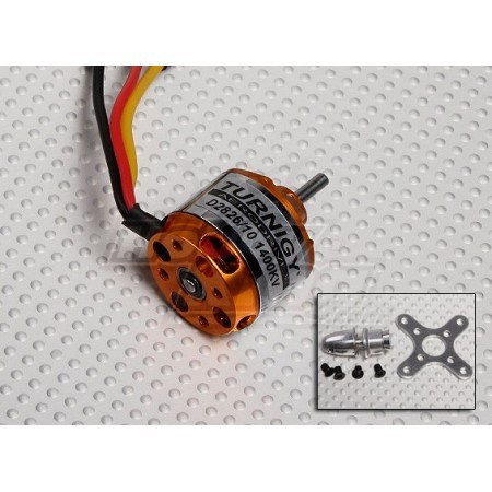 Motor brushless 2826-10 1400KV