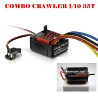 Combo Hobbywing y motor 35t para coches crawlers 1/10