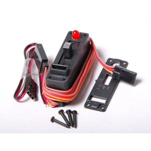 INTERRUPTOR CON LED PARA AVIONES RC